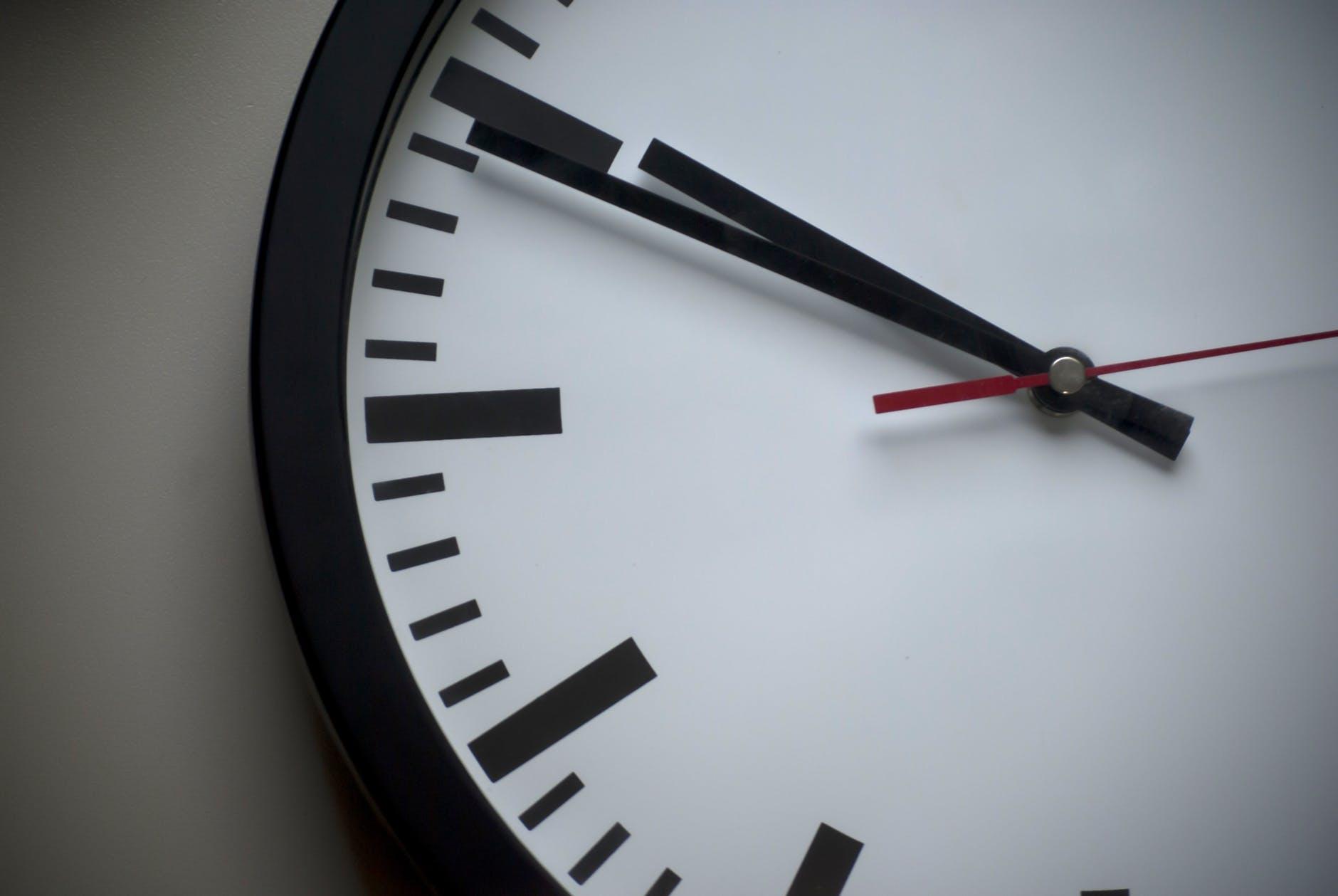 高效率的时间管理5个原则
